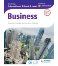Cambridge International AS and A Level Business