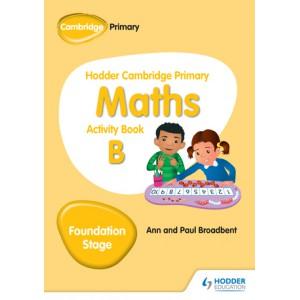 Hodder Cambridge Primary Maths Activity Book B Foundation Stage