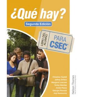 ¿Qué Hay? Libro del Alumno para CSEC