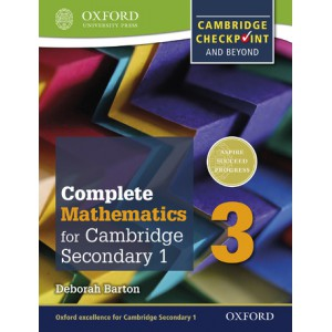 Complete Mathematics for Cambridge Lower Secondary 1: Book 3
