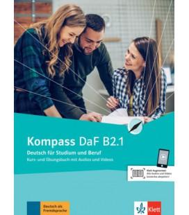 Kompass DaF B2.1 interaktives Kurs- und Übungsbuch