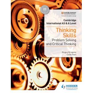 Cambridge International AS & A Level Thinking Skills