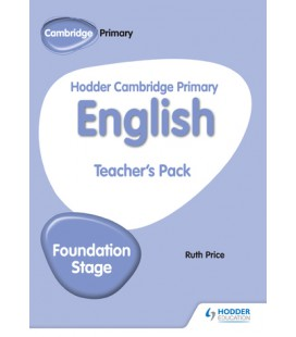 Hodder Cambridge Primary English Teacher's Pack Foundation Stage
