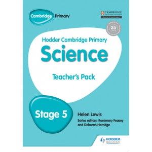 Hodder Cambridge Primary Science Teacher's Pack 5