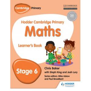 Hodder Cambridge Primary Maths Learner's Book 6