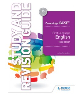 Cambridge IGCSE First Language English Study&RevisionGuide 3rd edition
