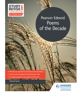 Study and Revise Literature Guide for AS/A-level: Pearson Edexcel Poems of the Decade