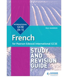 Pearson Edexcel International GCSE French Study and Revision Guid