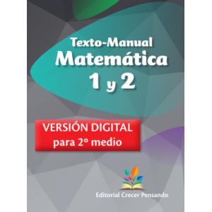 Matemática 1 y 2 (2º Medio)