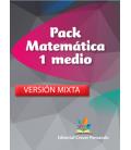 Pack Matemática 1 medio VERSIÓN MIXTA