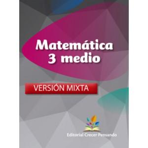 Matemática 3 medio versión mixta