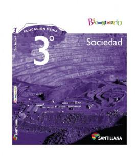 Sociedad 3º Medio. Serie Bicentenario