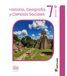 Historia, geografía y ciencias sociales 7º (Saber Hacer)